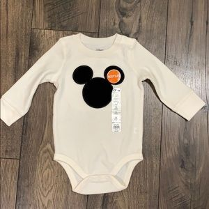 Jumping Beans Mickey Onesie